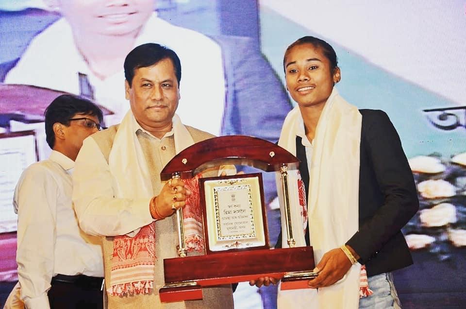 Hima Das Brand Ambassador for Assam Sports