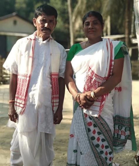 Hima Das Parents