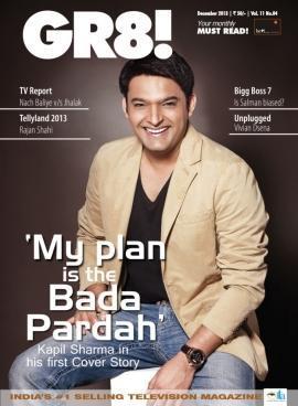 Kapil Sharma on Magazine GR8