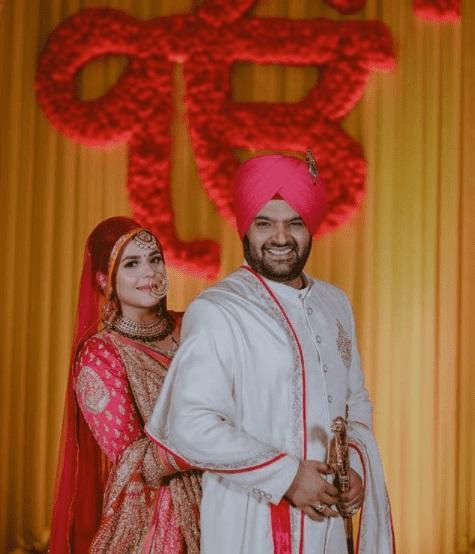 Kapil Sharma and Ginni marriage photo