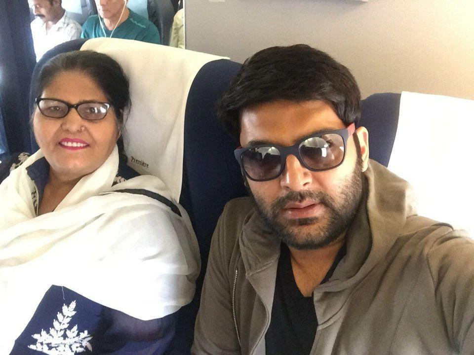 Kapil Sharma with Mother Janki Rani