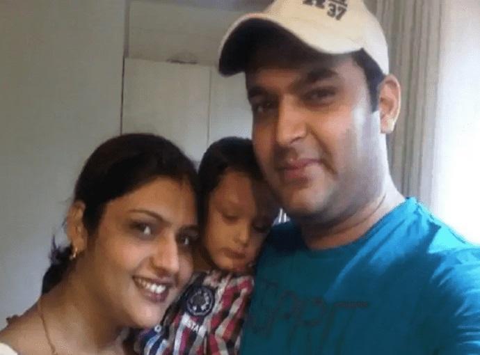 Kapil Sharma with sister  Pooja Sharma
