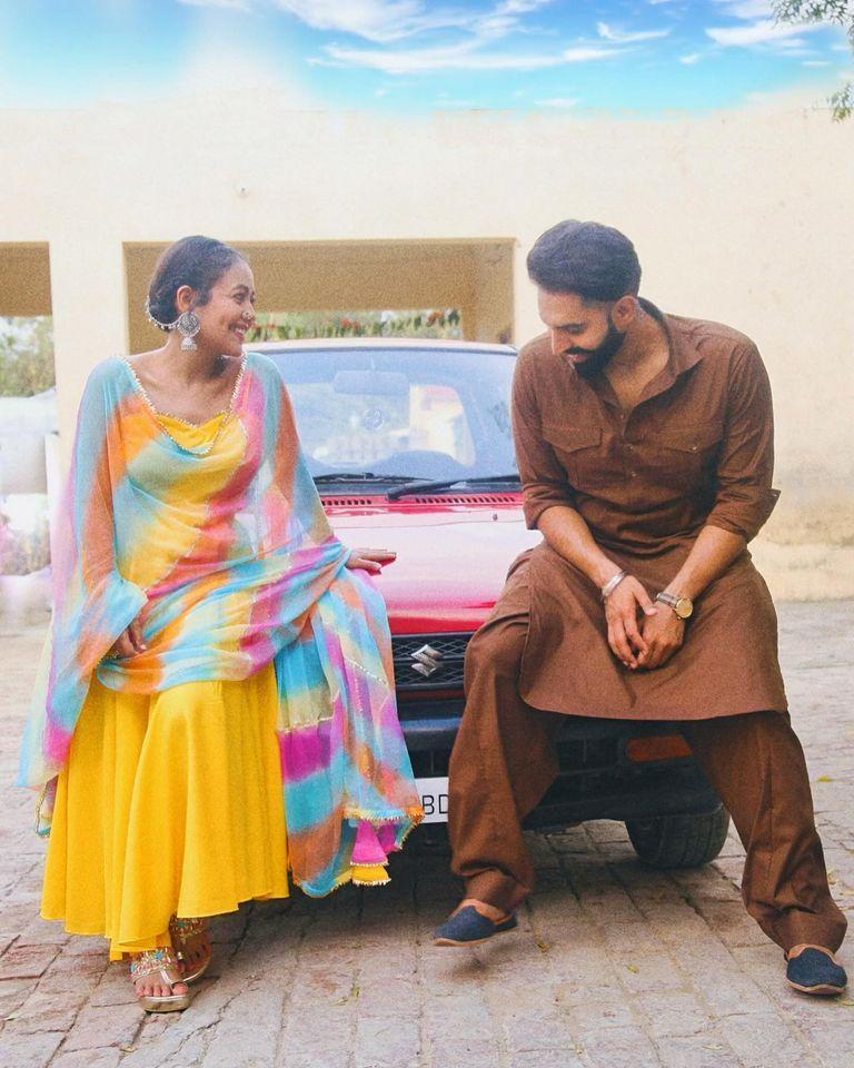 Neha kakkar with Parmish verma New song (Diamond Da Challa)