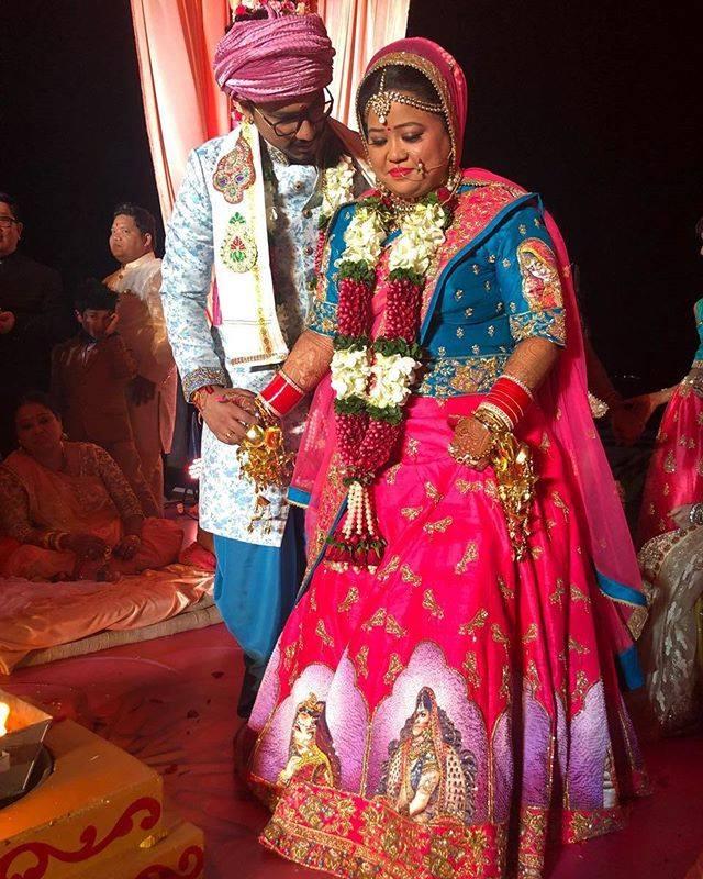 Haarsh Limbachiyaa & Bharti Singh
