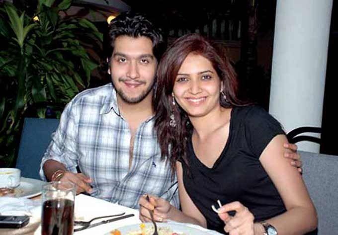 Karishma Tanna with Bappa Lahiri