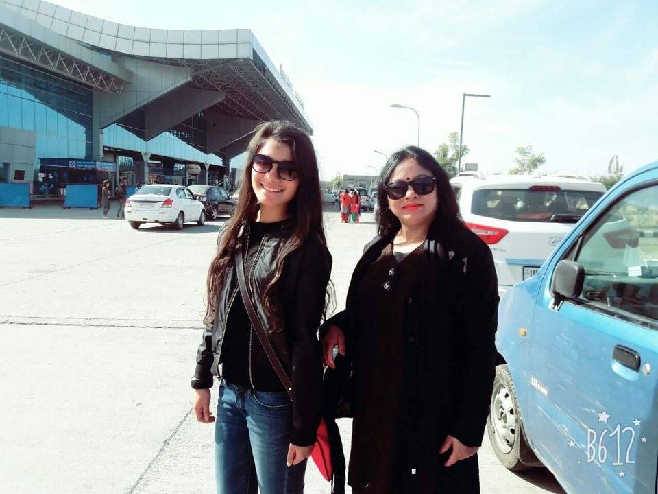 Meena rana with her daughter Surbhi