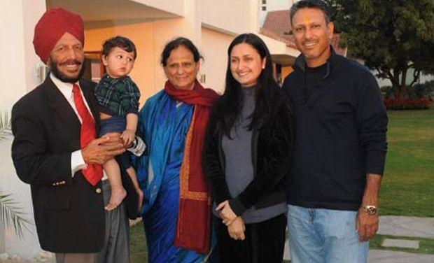 Milkha Singh family