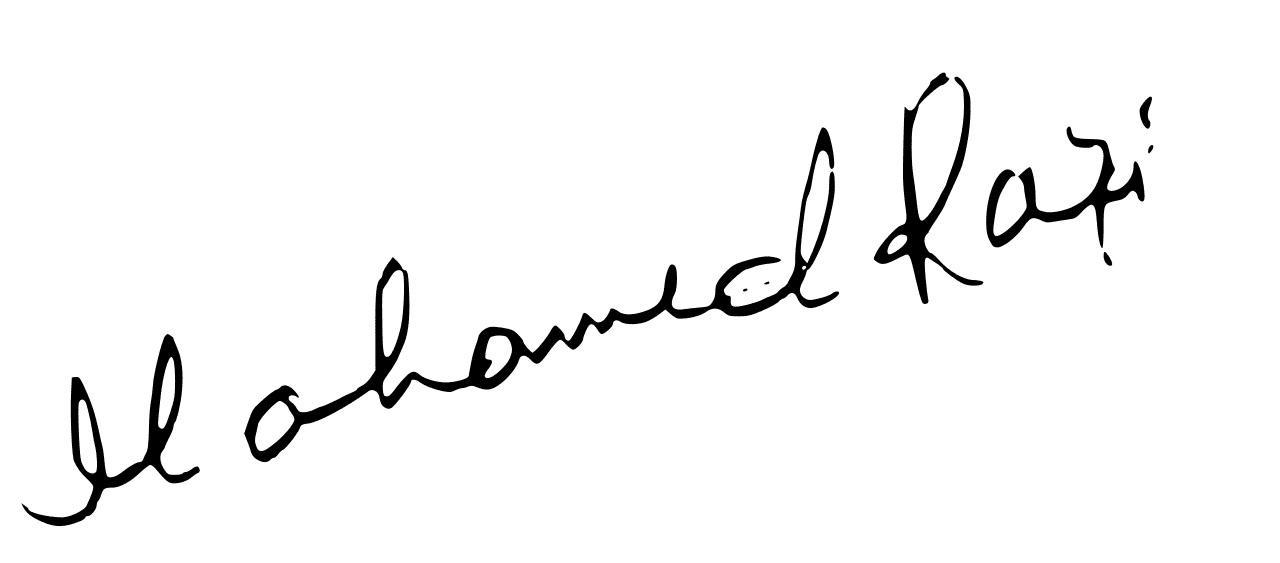 Mohammed Rafi Signature