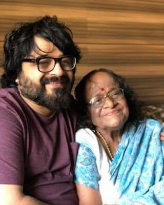 Pritam Chakraborty with his Mother Anuradha Chakraborty