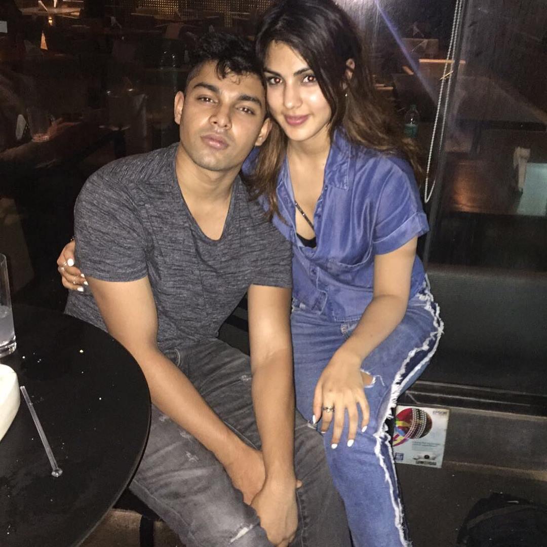 Rhea Chakraborty with her Brother Showik Chakraborty