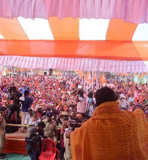 Sambit Patra Addressed in Siruli, Brahmagiri Assembly, Puri Loksabha Constituency