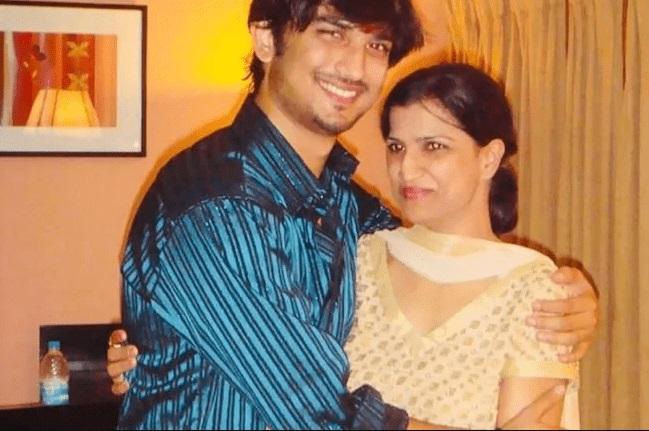 Sushant Singh Rajput with his Sister Meetu Singh