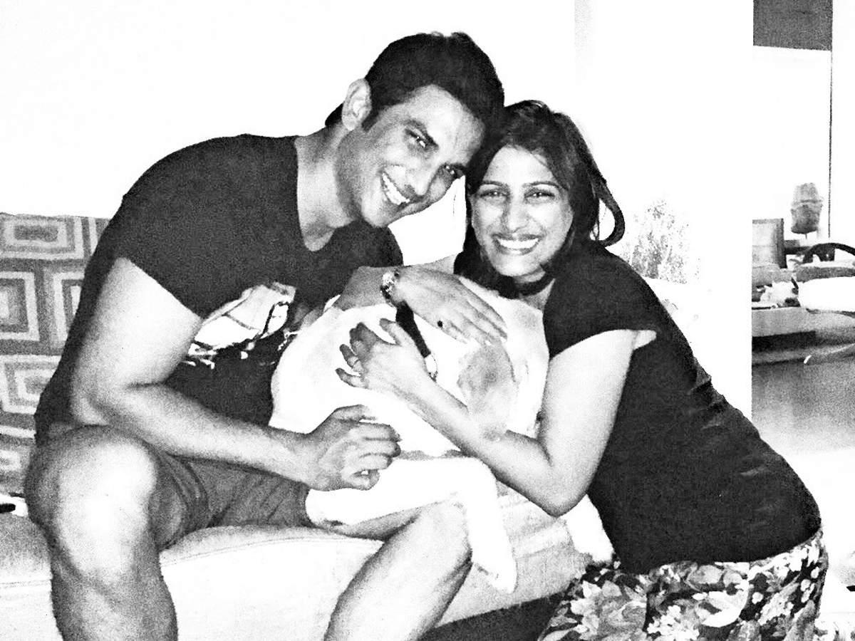 Sushant Singh Rajput with his sister Priyanka Singh
