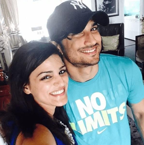 Sweeta Singh Kirti with brother Sushant Singh Rajput