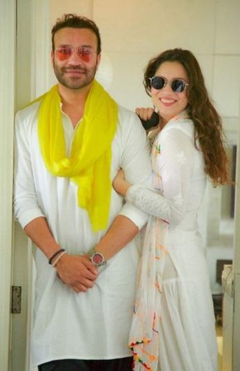 Vicky Jain with Ankita lokhande
