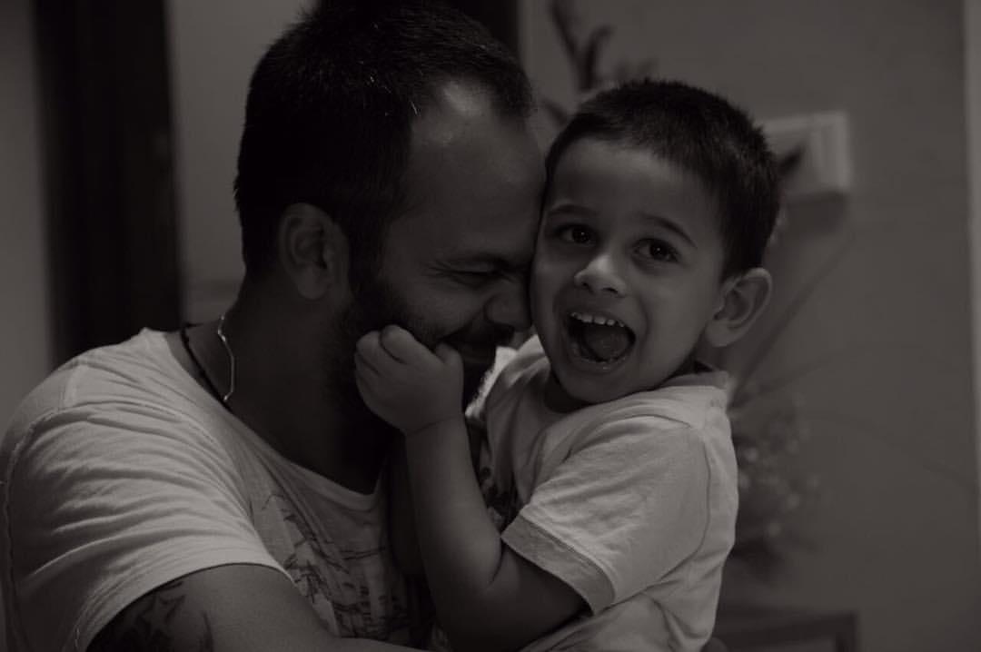 Rohit Shetty with Son Ishan