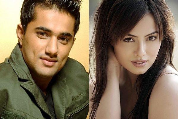 Sana Khan with Vishal Karwal