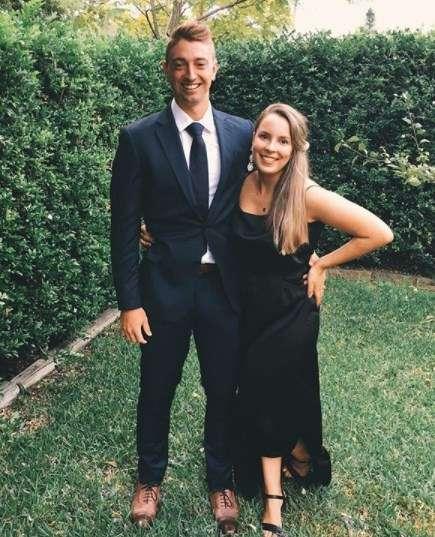Daniel Sams with his wife Danii Sams