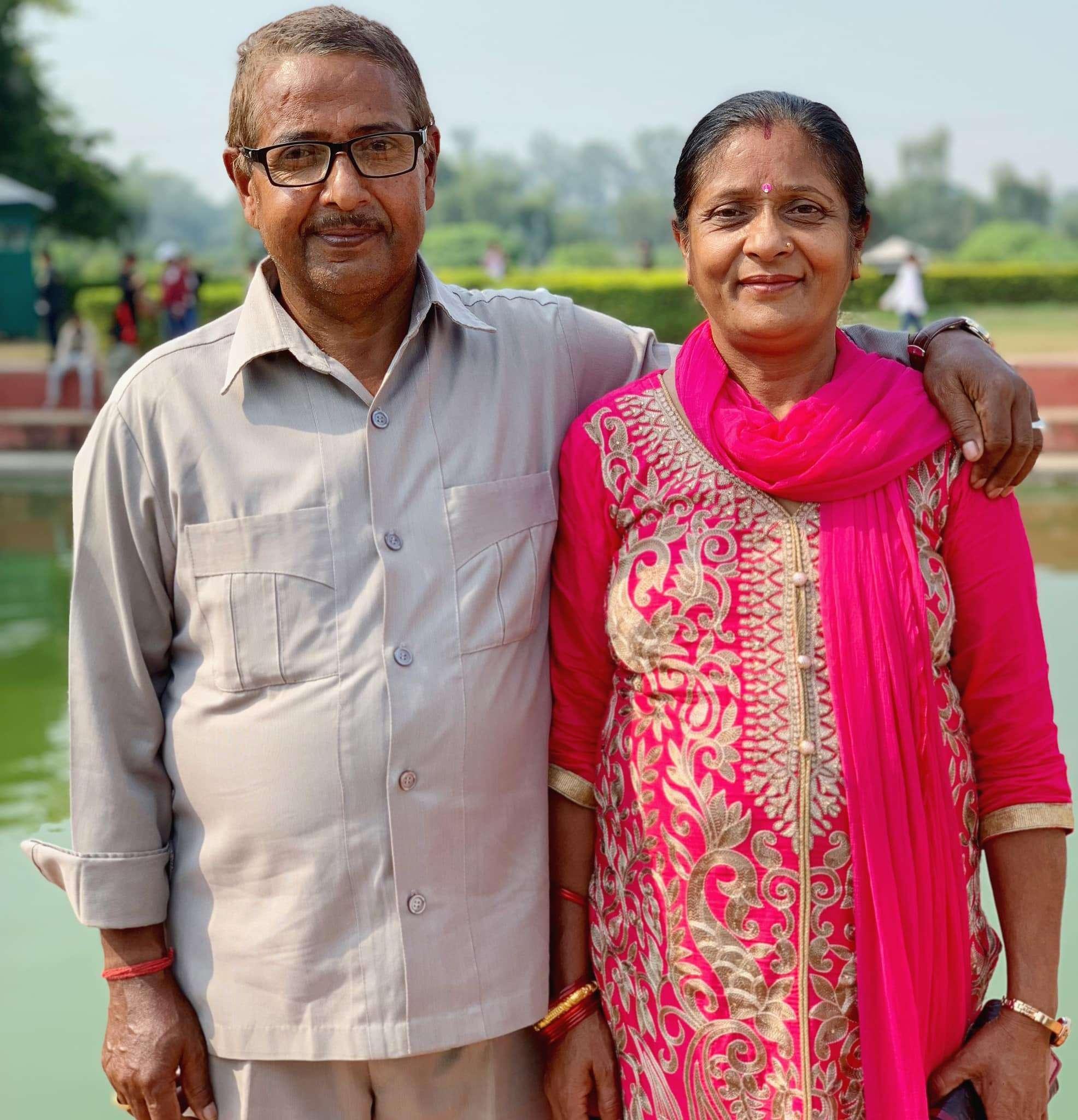 Sandeep Lamichhane Parents