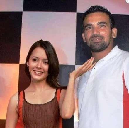 Zaheer khan and Isha Sharvani