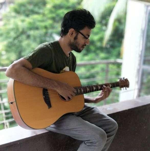 Biswa Kalyan Rath playing Guitar