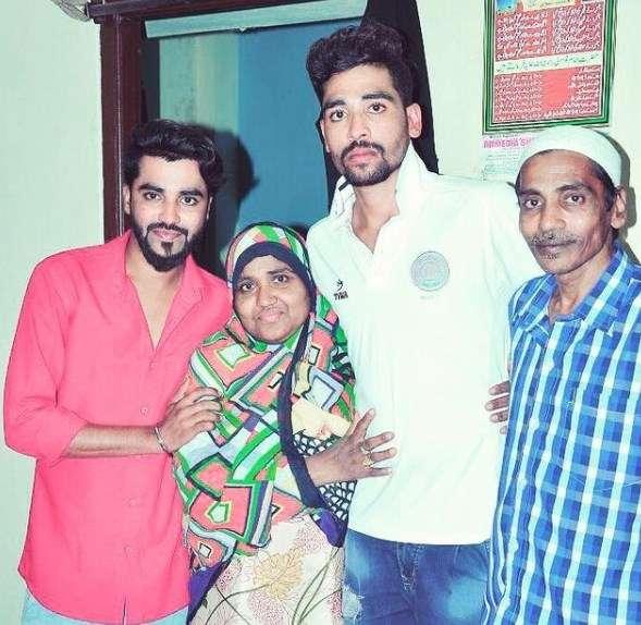 Mohammed Siraj Family