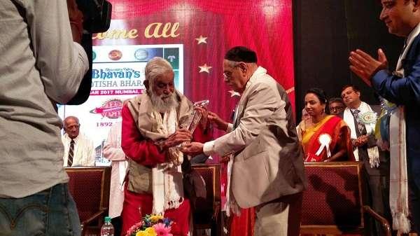 K N Rao in BVB Mumbai on its 125 th year celebration