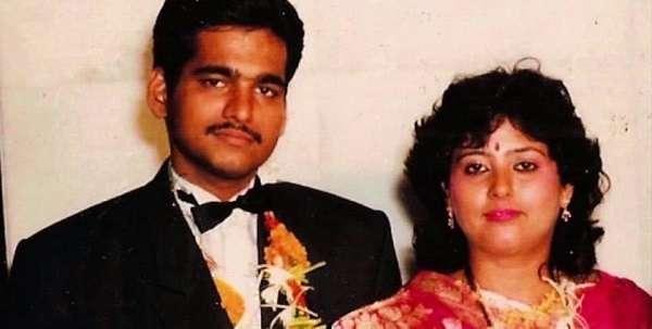 Swetta Jumaani with her Husband