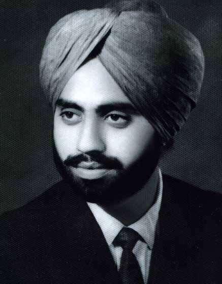 Jagjit Singh with his Turban