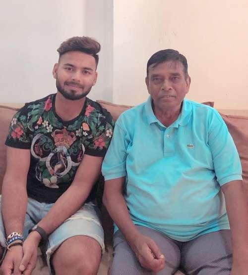 Rishabh Pant with Mentor Tarak Sinha