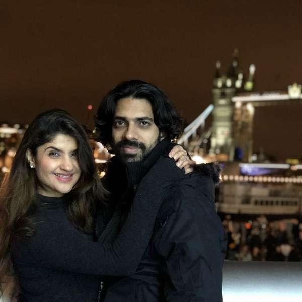 Rj Archana Pania and Akshar Sharma