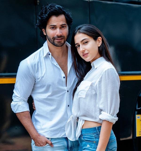 Sara Ali Khan and Varun Dhawan