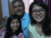 Trivendra Singh Rawat with his daughter